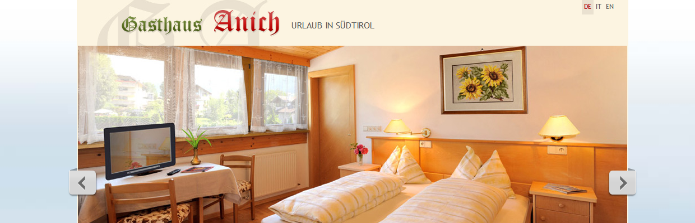 Urlaub im Wohlfühl- und Abenteuerparadies Südtirol - Gasthaus Anich