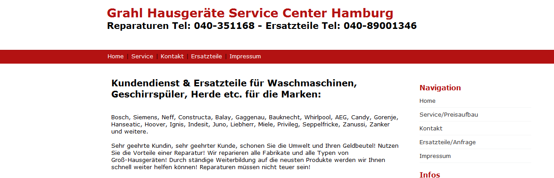 Service Haushaltsgerate