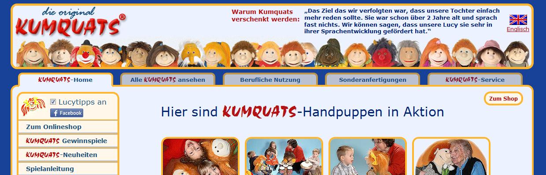 Kumquats Handpuppen online bestellen