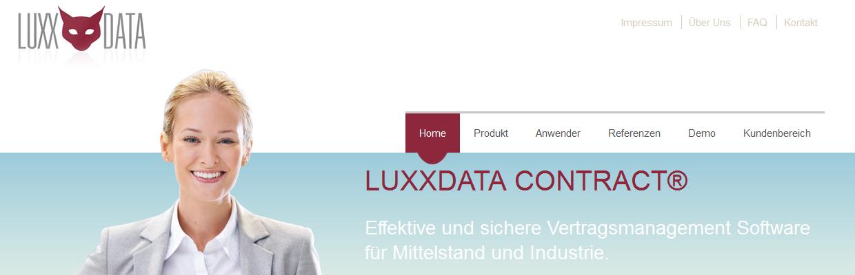 Luxxdata Contract für volle Terminüberwachung